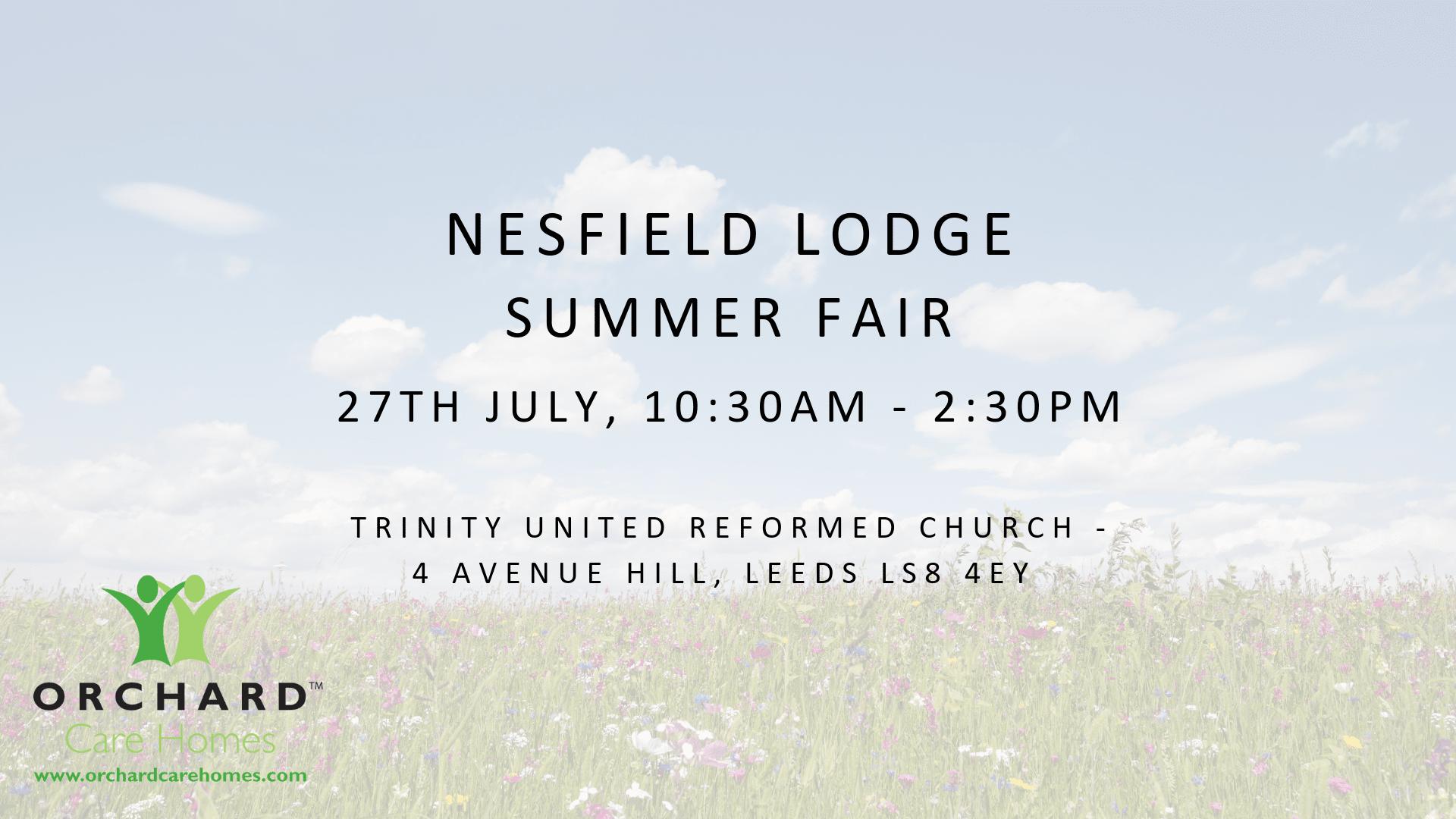 Nesfield Lodge  Summer Fair.png
