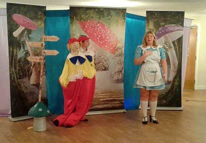 A unique performance of Alice In Wonderland