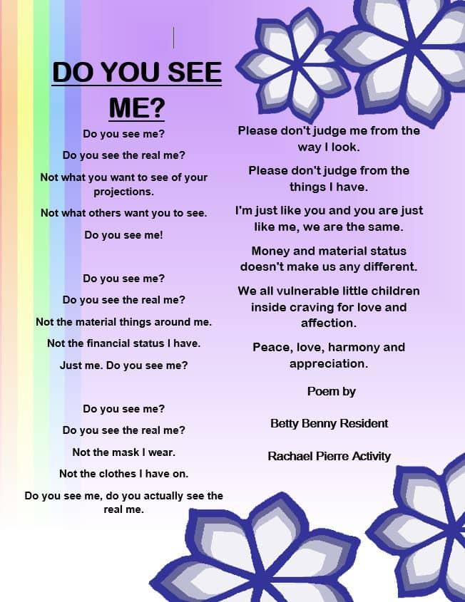 Betty's Poem