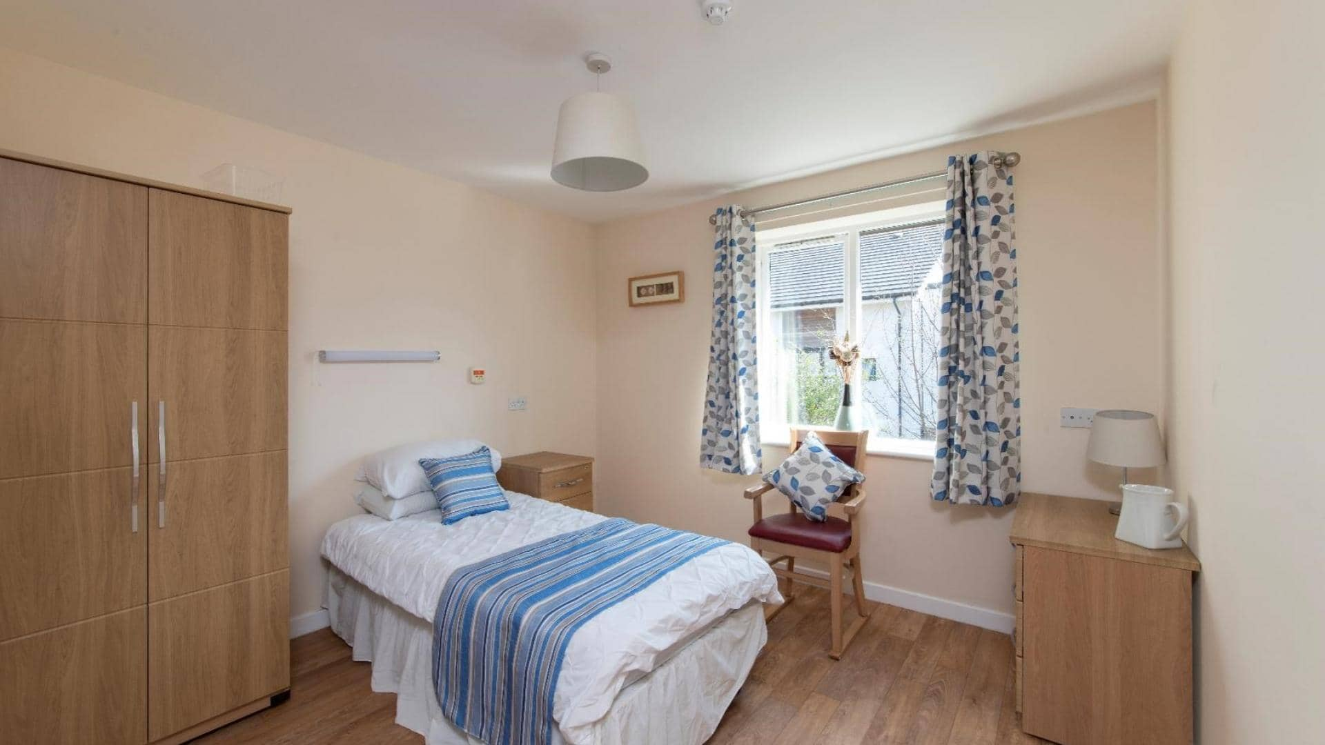 Example bedroom at Green Lodge