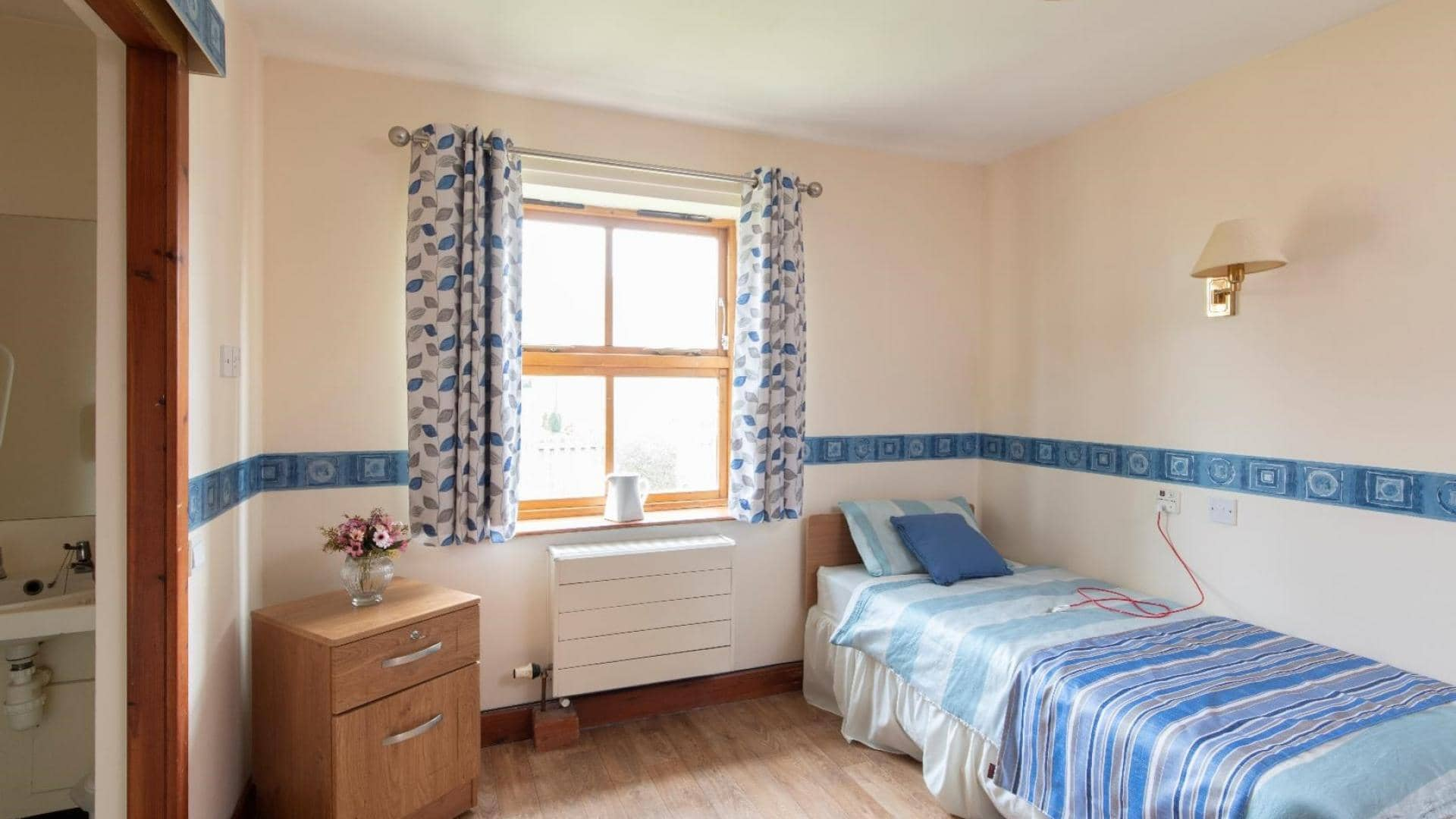 Langfield Care Home Bedroom