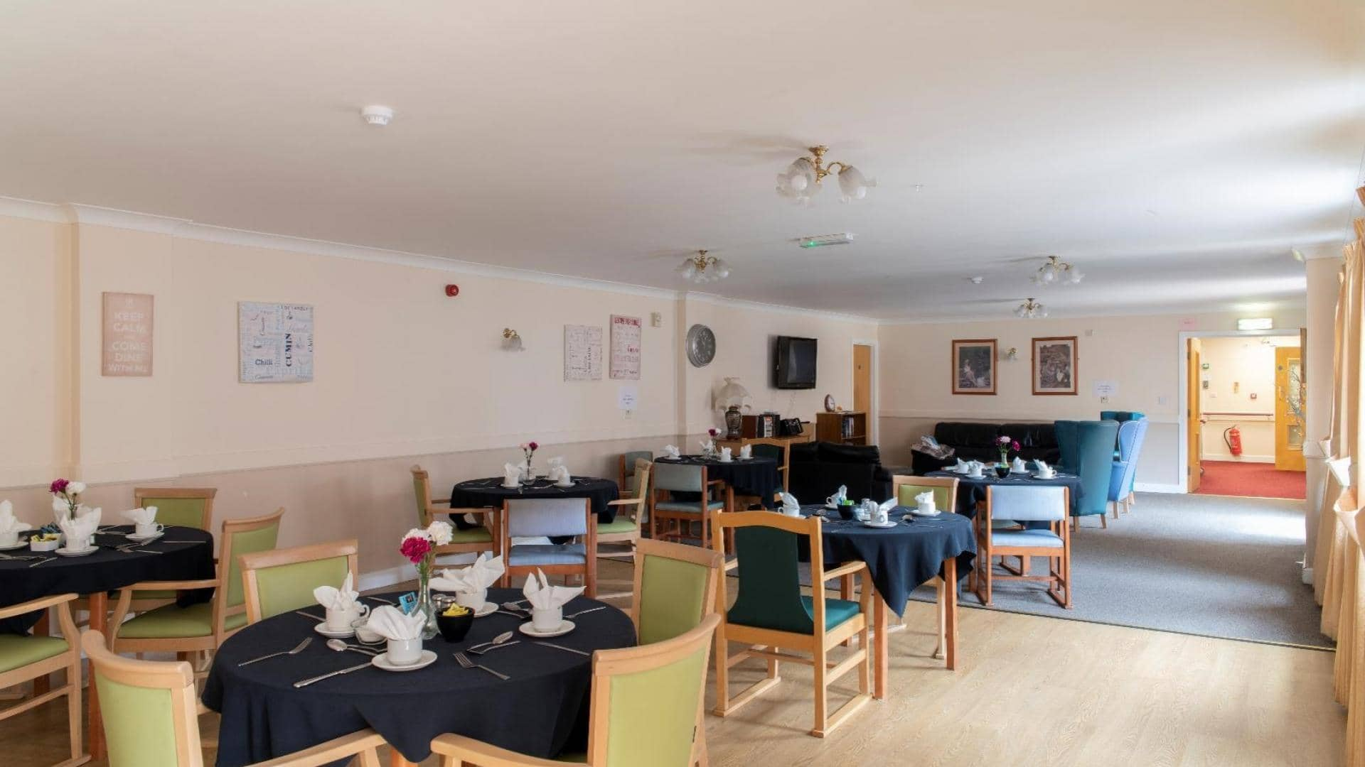 Langfield Care Home Dining Room