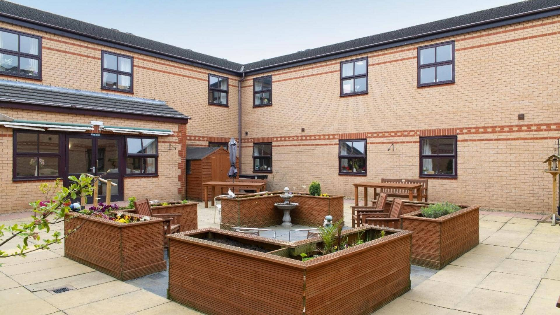 Langfield Care Home Garden