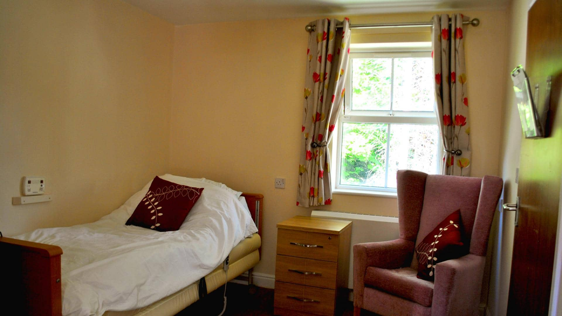 Eaton Court Care Home, Bedroom