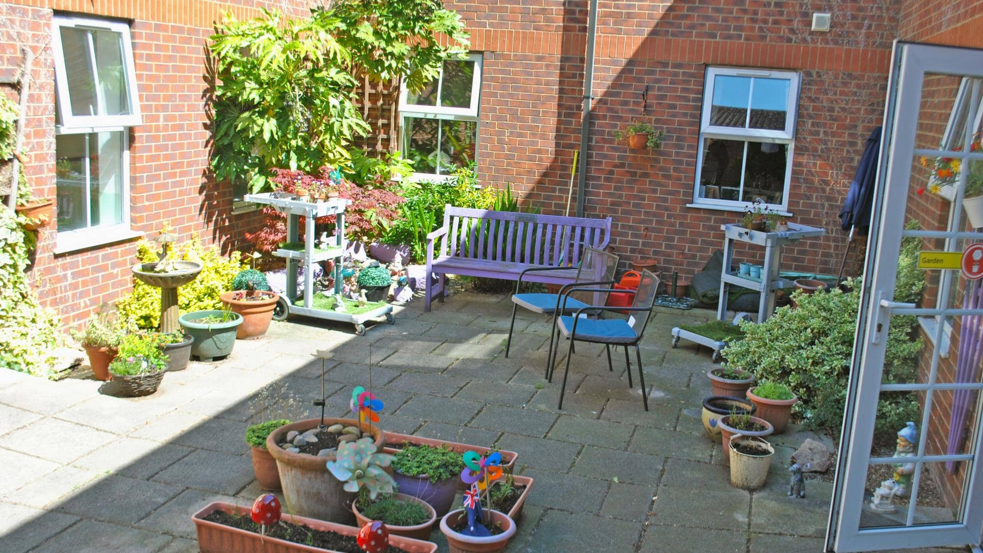 Eaton Court Care Home, Garden