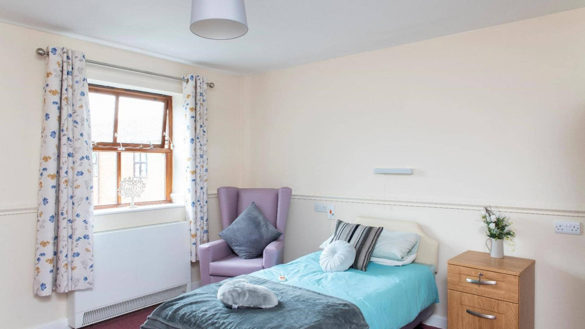 Paisley Lodge Care Home, Armley, Bedroom