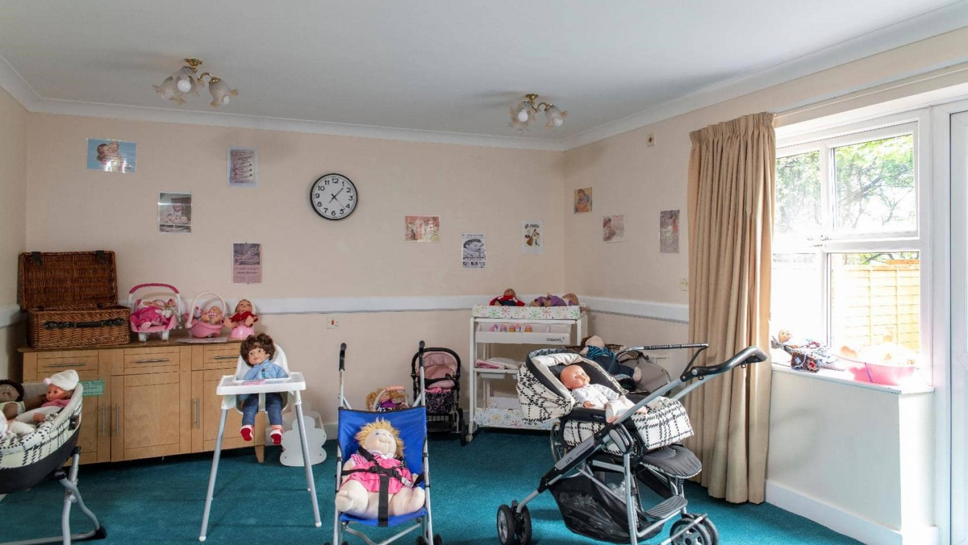 Paisley Lodge Care Home, Doll Therapy Room