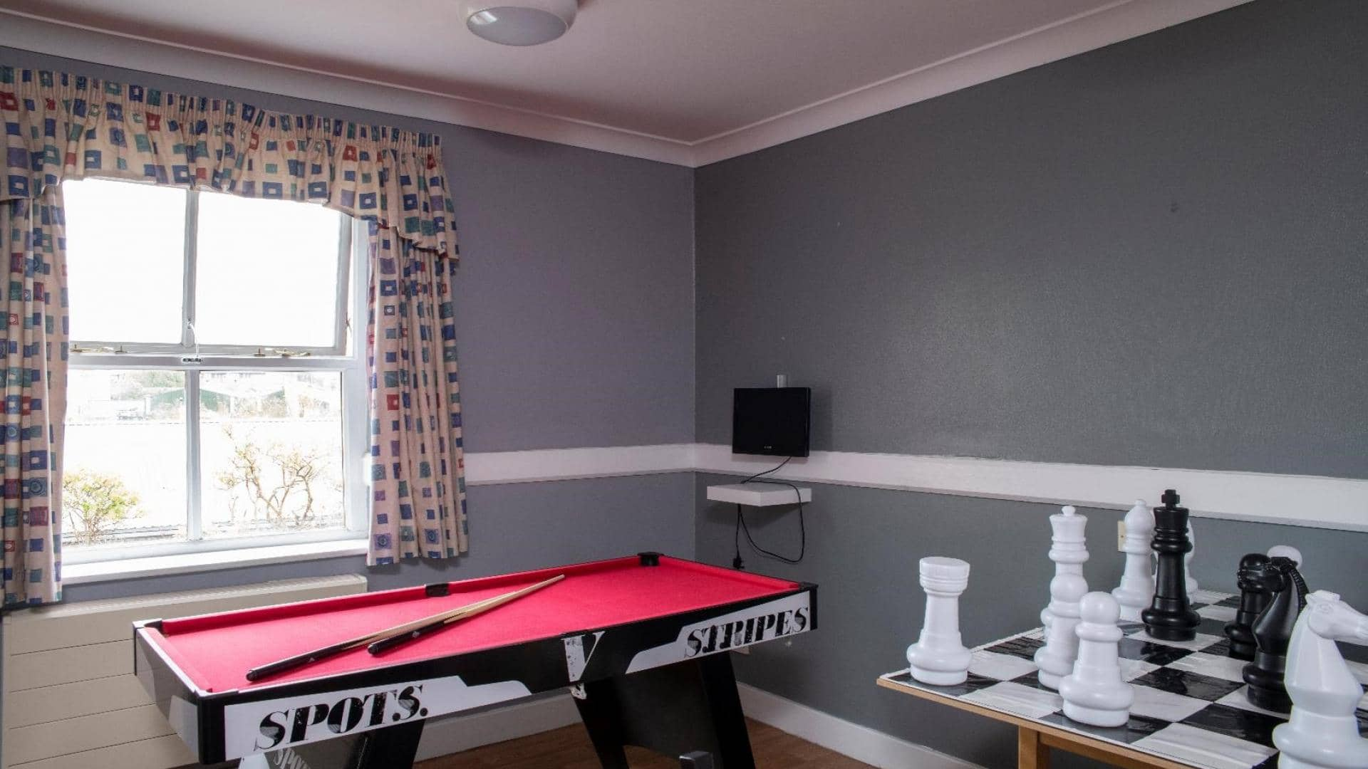 Paisley Lodge Care Home, Games Room