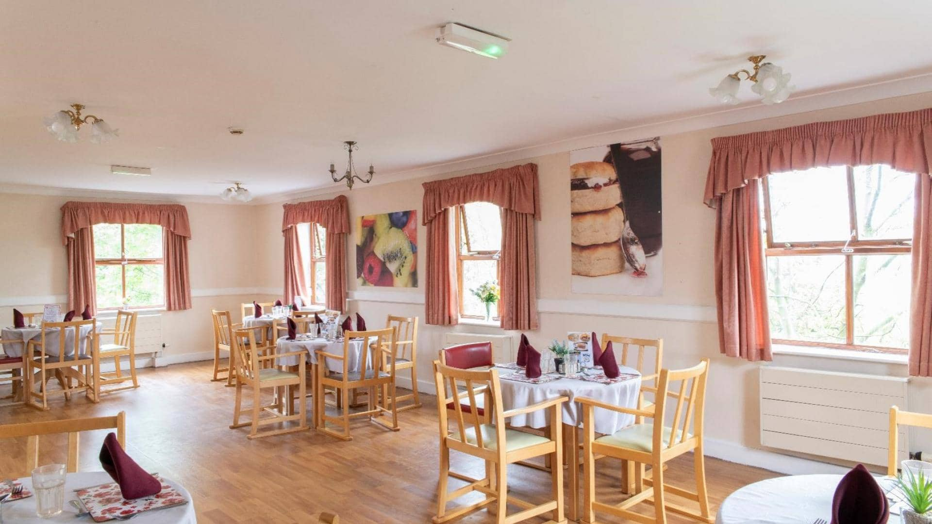 Paisley Lodge Care Home Dining Room