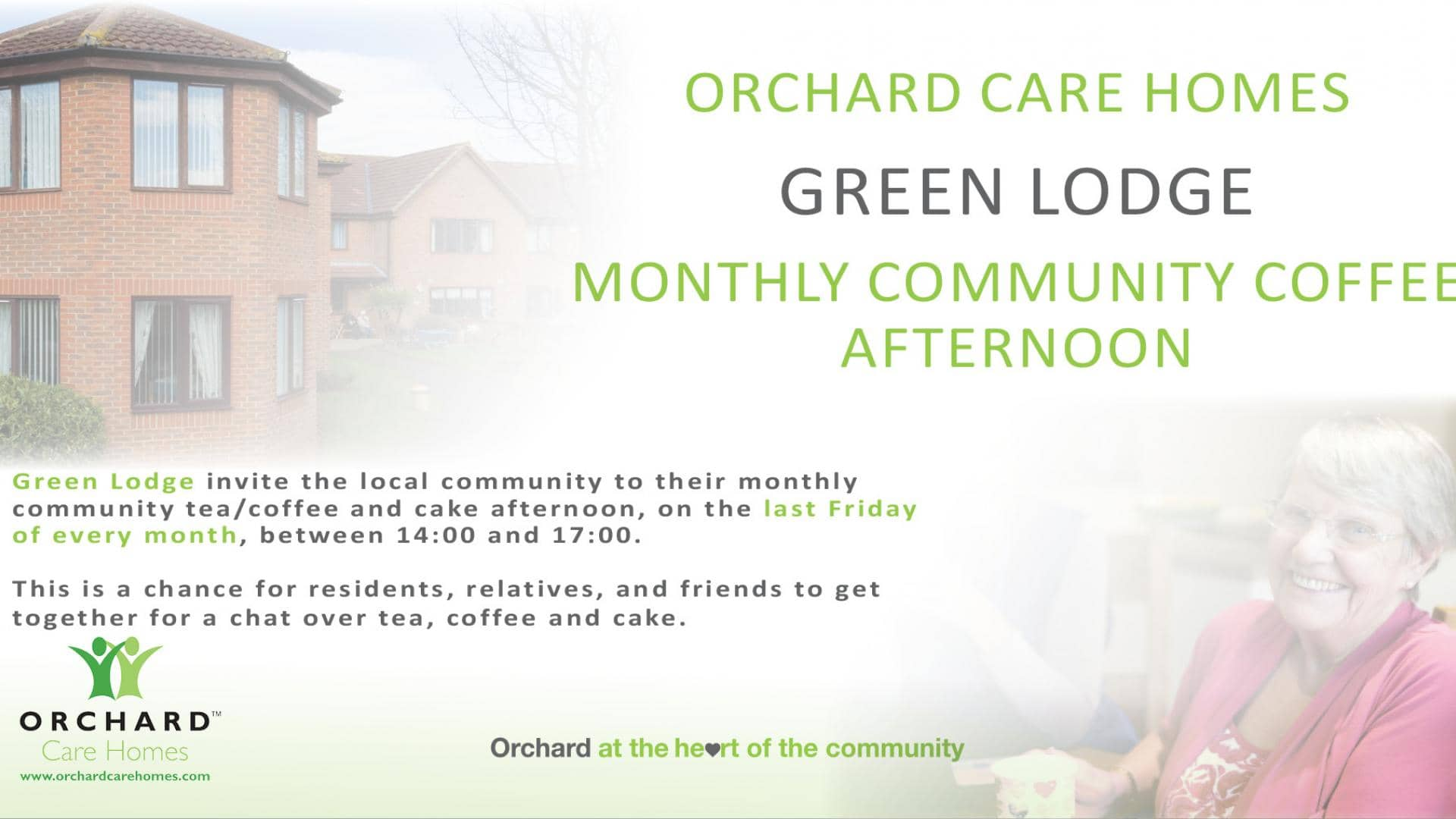 Green Lodge Coffee Afternoon
