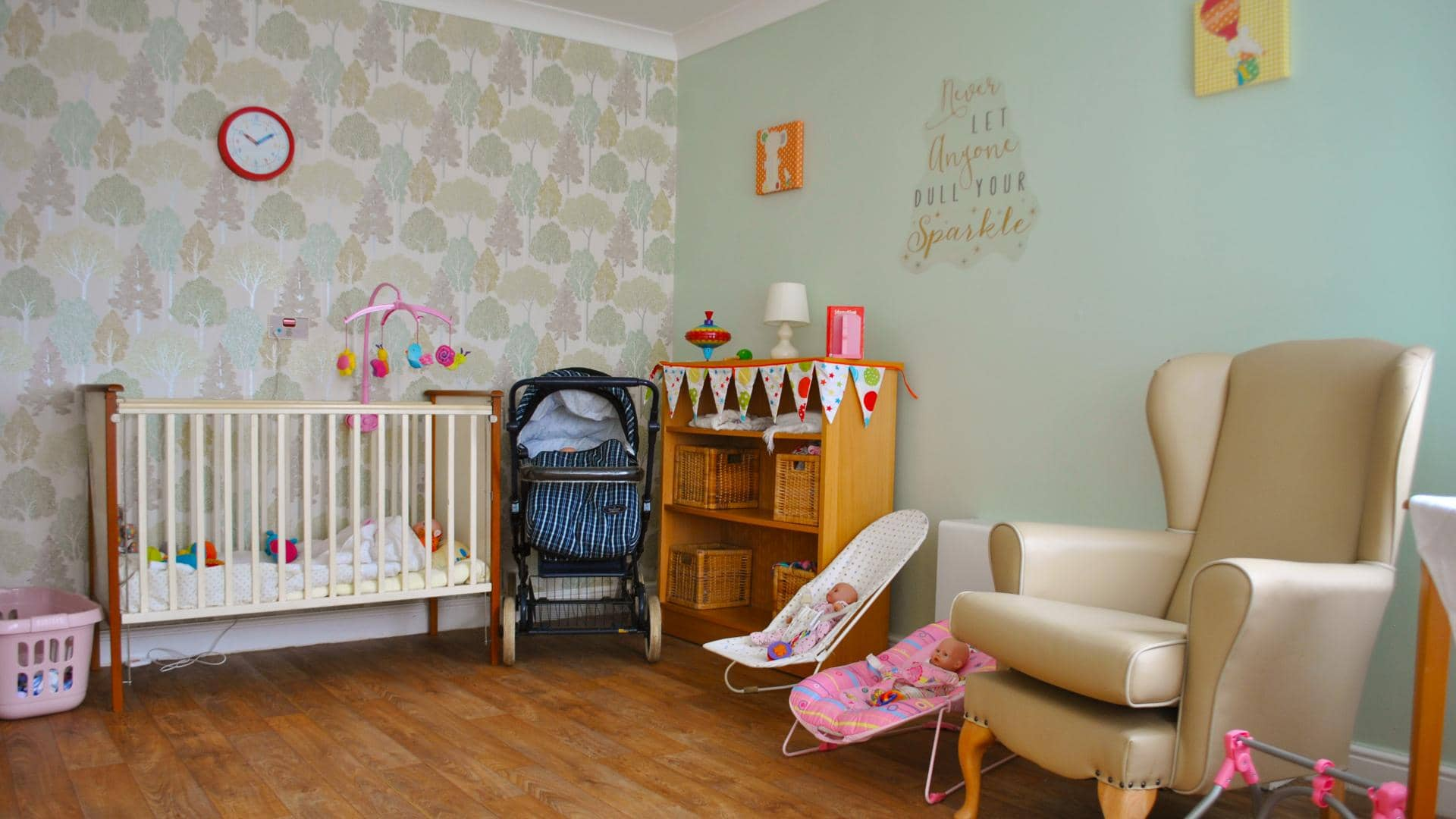 Rastrick Hall and Grange Doll Therapy Room