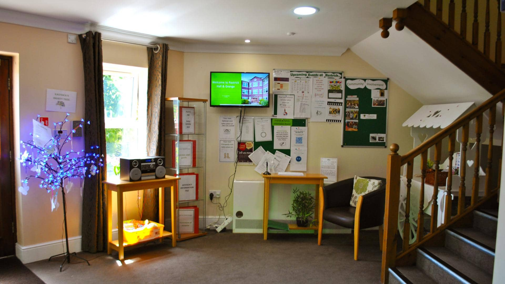 Rastrick Hall and Grange Reception