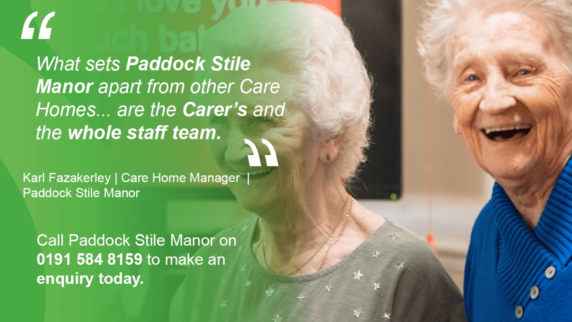 Paddock Stile Manor_Houghten Le Spring_Care Home_North East