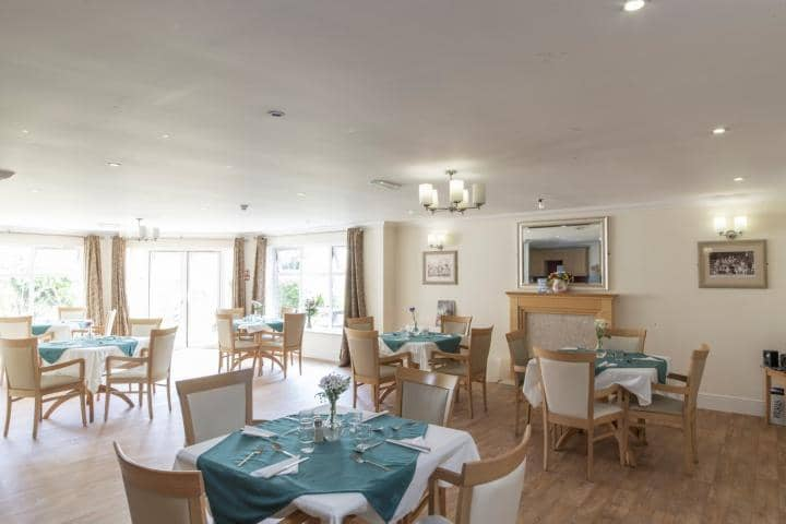 Fleetwood Care Home Dining Room