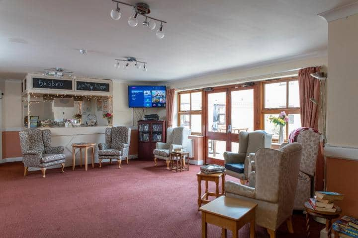 Langfield Care Home Lounge