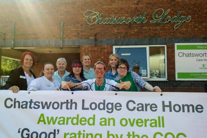 Good CQC Rating for Chatsworth Lodge