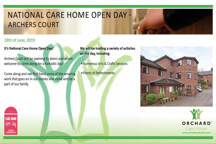 National Care Home Open Day - Archers Court