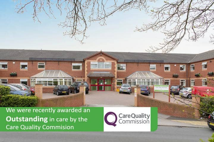 Cherry Trees Care Home - Rotherham Care Home - Outstanding CQC Care