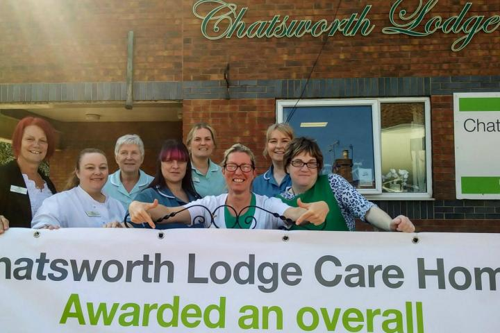 Chatsworth Lodge Good CQC.