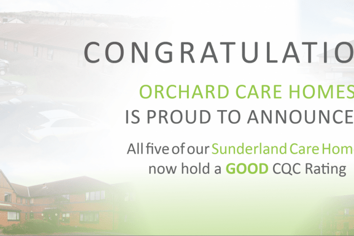 Sunderland Homes Good CQC rating
