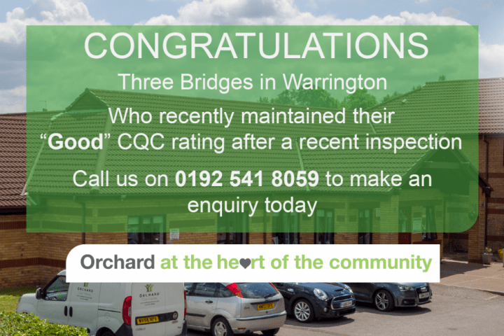 Three Bridges Nursing Home_Warrington_Good CQC.
