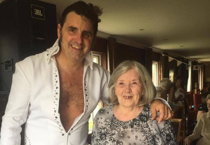 Elvis at St Helen's