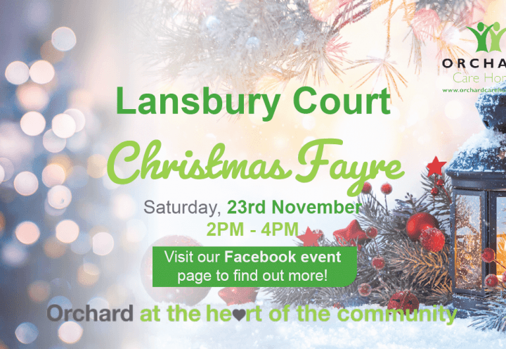 Lansbury Court Care Home in Sunderland, Tyne & Wear, Christmas Fayre
