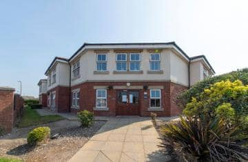 Fleetwood Hall Care Home Entrance